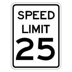 Speed Limit Sign EGP-Grade R2-1