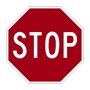 "Small R1-1 Stop Sign 18"" HIP Reflective .080 Aluminum-Not for streets"