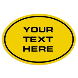"""Your Text Here"" Custom Decal / Sticker custom, promo, enter text, customized, your text, logo, decal, sticker"